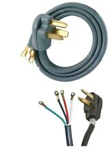 Electric Dryer Cord 30 AMPS  125 250 V