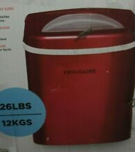 Frigidaire EFIC108 RED Compact Ice Maker  Red