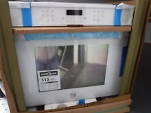 Kenmore white singel wall oven in box 48352