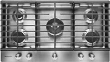 Kitchen Aid Stainless Steel 36  5 Burner Gas Cook Top KCGS5556ESS