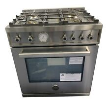 Professional Series 30  Stainless Slide In Natural Gas Sealed Burner Range   Con