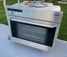 Miele H387 B 27  Single In Wall Kitchen Stainless Steel Oven