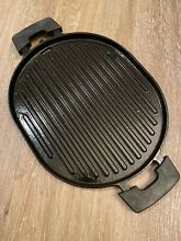 NuWave Grill Pan Precision Induction Cast Iron Double Handle New