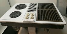 Jenn Air C236W Electric Cooktop Downdraft Stovetop Griddle Grill Coil Cartridges