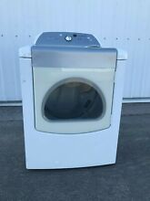 Used Whirlpool Cabrio Front Load White Gas Dryer with Moisture Sensing