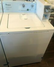 New Open Box Whirlpool 3 3 cu  ft  White Commercial Top Load Washing Machine Coi