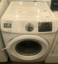 New Open Box Samsung 7 5 cu  ft  Gas Dryer in White  DV42H5000GW