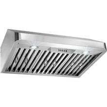 AKDY Under Cabinet Range Hood 30 in  LED Electronic Push Buttons Stainless Steel