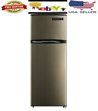 Thomson 7 5 cu ft Top Freezer Refrigerator Temperature Controlled Space Saving