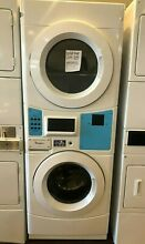 New Open Box Whirlpool Commercial Laundry Center with 3 1 cu  ft  Washer and 6 7