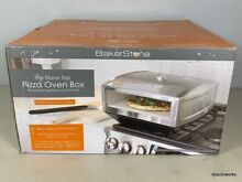 Bakerstone Pizza Box  Gas Stove Top Oven  Stainless Steel  OS ABDXX O SSS  1