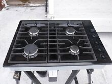 Jenn air downdraft cooktop black gas very clean jgd3430