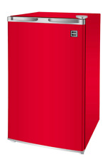 New 3 2 Cu  Ft  Mini Fridge Red Small Collage Dorm Office Refrigerator Freezer