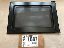 WOLF DOOR PANEL CONVECTION OVEN MICROWAVE 816567 806232 WLF816567 FITS MWC24