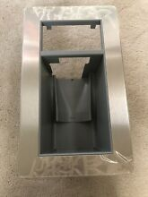 NEW SUB ZERO 600 SERIES REFRIGERATOR GLASS WELL STAINLESS STEEL MODEL ONLY