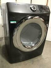 800 Samsung 7 5 cu ft  Electric Dryer with Steam Black Stainless DVE45N5300V A3