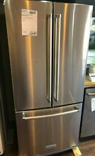 New Open Box KitchenAid  19 68 Cu  Ft  Stainless Steel French Door Refrigera