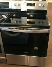 New Open Box Whirlpool  29 88  Stainless Steel Free Standing Electric Range WFE5