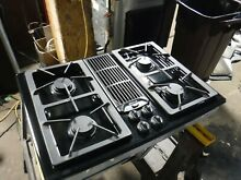Jenn Air Downdraft Gas 30  Cooktop 4 Burners Grill   Griddle JGD8130ADB21