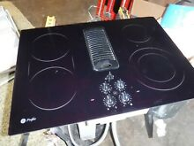 GE Profile Cooktop JP989BK1BB Downdraft Electric