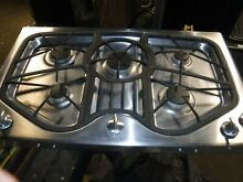 Jenn Air 36  inch natural gas cooktop range stainless steel JGC8536ADS
