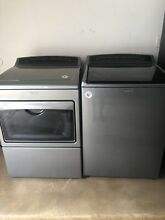 Whirpool Top loading Washer and Electric Dryer In Chrome Excellent Condition