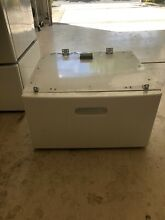 Frigidaire Affinity Front Load Washer Dryer Pedestal Assembly CFPWD15W   White
