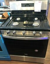 New Open Box Whirlpool  29 88  Stainless Steel Free Standing Gas Range WFG525S0J
