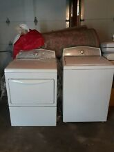 PRE OWNED KENMORE ELECTRICAL WASHER   DRYER SET