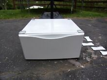 LG WDP3W g 27  Washer or Dryer Pedestal White LG WITH HARDWARE