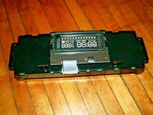 OEM Whirlpool stove range control board W10340304   FOR PARTS ONLY