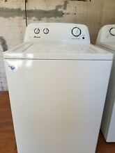 Amana Washer and Dryer  Used in Great Condition  Top load  White