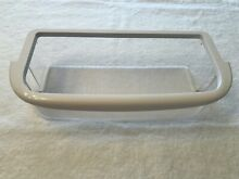 Maytag Refrigerator Door Bin Shelf or Amana White Clear OEM  67004634  W10371193