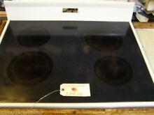 ROPER STOVE 3184122  Cooktop  white  SMALL MARKS   used