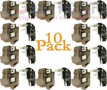 10 Pack 4387913 for Whirlpool Refrigerator Relay and Overload PS371538 AP3108669