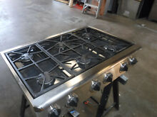 Dacor ESG366S Epicure 36  6 Burner Gas Cooktop  Stainless