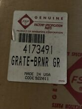 4173491 WHIRLPOOL GAS RANGE TOP BURNER GRATE   GRAY   New In Box Free Shipping