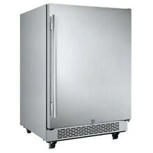Avallon 5 5 cu ft Outdoor Built in Stainless Refrigerator Fridge Right Hinge