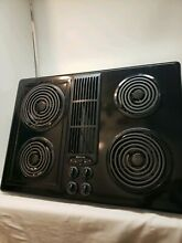 Jenn Air JED8130ADB Electric Downdraft Cooktop Stovetop Coil Black Cartridge