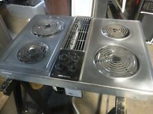 Jenn air c206 stainless cooktop
