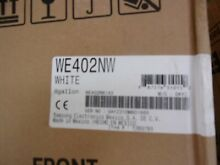 Samsung Pedestal White WE402NW for Washer or Dryer WITH HARDWARE