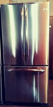 GE Profile French Door Stainless Refrigerator  19 5 Cu  Ft  29 75  W PFSS0MFZB