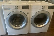 NEW OPEN BOX LG FRONT LOAD WASHER   GAS DRYER SET