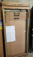 Sub Zero BI 36R S TH LH 36  Built In All Refrigerator   Classic Stainless