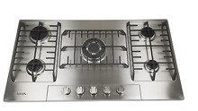AOTIN 36  Stainless Steel 5 Burners Gas Cooktop Built in LPG NG Gas Hob