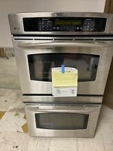 GE Profile 30  Built In Double Convection Thermal Wall Oven Stainless Steel New
