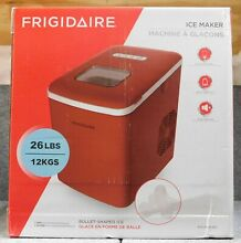 BRAND NEW IN BOX Frigidaire EFIC108 B RED Large Portable Ice Maker FREE SHIPPING