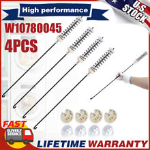 4pack W10780045 W10821956 Washer Suspension Rod Kit For Whirlpool Kenmore Maytag