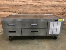 Delfield F2962C 62  4 Drawer Refrigerated Chef Base  115 V