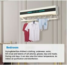 Portable Smart Dryer for Towels  Clothes and Kitchen Utensils